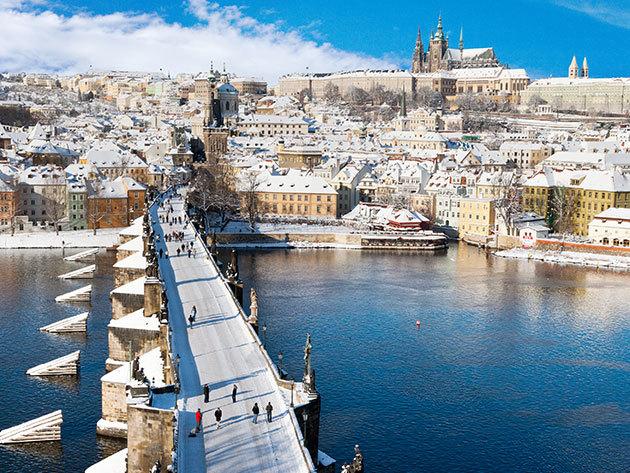 Prágai téli városlátogatás és szállás szuper áron! Hotel Bílý Lev - 3 nap 2 éjszaka 2 fő részére reggelivel