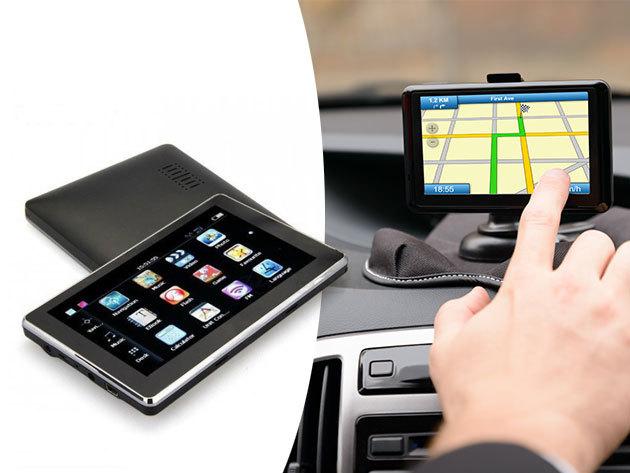 """GPS Q503 5""""-os kijelzővel - a navigáció melletti programok: Audio Player / Video lejátszó / Photo Browser / Számológép / Mértékegység átváltó / Játékok"""