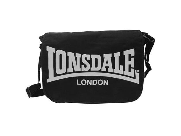 Lonsdale oldaltáska - fekete 30x40x10cm  - 70916903