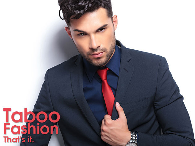 Hosszú ujjú férfi ing több színben, ajándék nyakkendővel - Légy elegáns mindenkor!