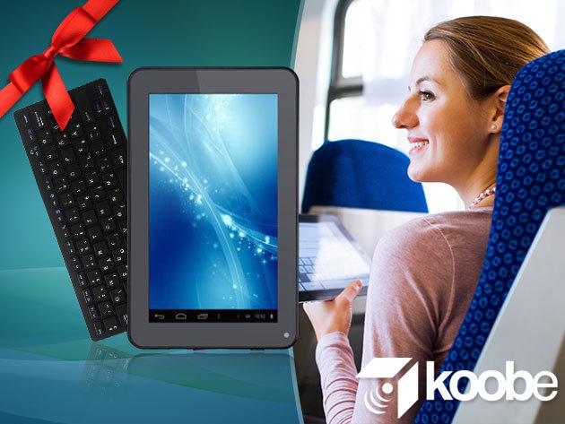 Koobe S7 Easy Dual+ tablet tokkal 16.990 Ft-ért, valamint Bekool X5 Bluetooth billentyűzet 3.990 Ft-ért