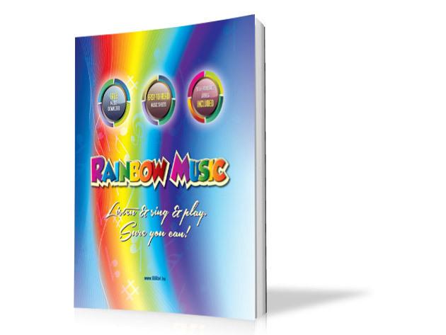 Rainbow music könyv
