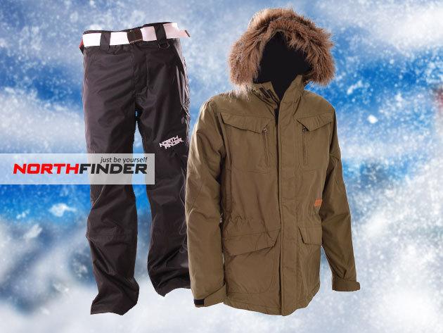 36e6c3f0f933 NorthFinder LOMHAR férfi téli kabát 39.990 Ft-ért, FEEZ pulóver 14.990  Ft-ért, és NIBROOM sínadrág 27.990 Ft-ért!