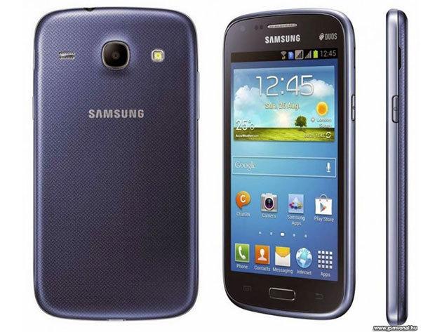 Samsung Galaxy Core 2 SIM kártyás mobiltelefon teljes gyári tartozékkal + tok + üvegfólia, 1 év garanciával