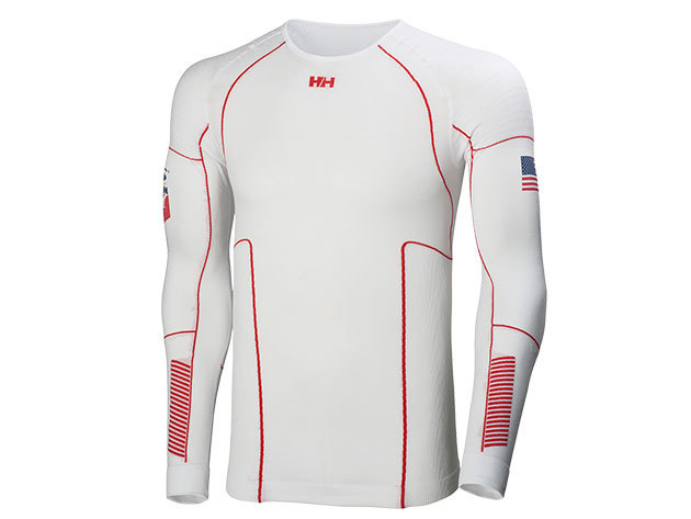 Helly Hansen HH DRY ELITE 2.0 LS US WHITE L (48482_372-L)