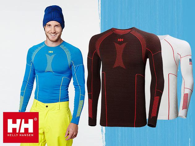 Helly Hansen HH DRY ELITE 2.0 LS férfi aláöltözet felsőrész - Lifa® Stay Dry technológia és varrásmentes anyag, mely a kényelem és a funkció tökéletes ötvözete