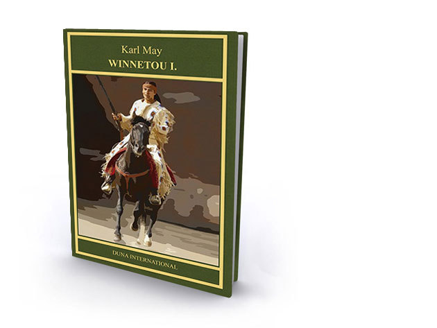 13. kötet - Winnetou I. - Karl May díszkiadás