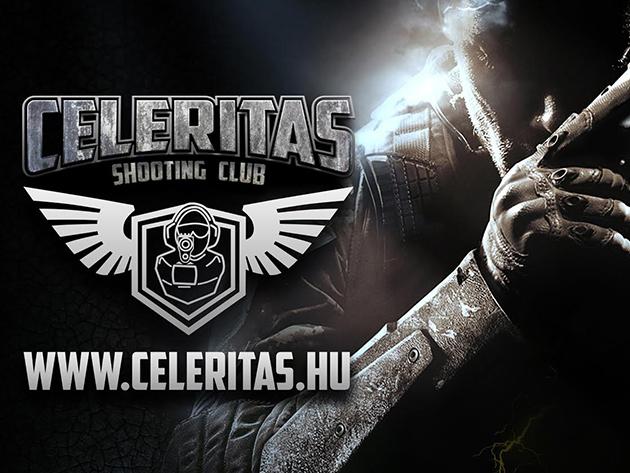 Élménylövészet kiképzéssel! Lőj 9mm-es nagykaliberű pisztollyal, revolverrel és géppisztollyal! 10-10 lövés 8 különleges fegyverrel - Celeritas Shooting Club Budapest
