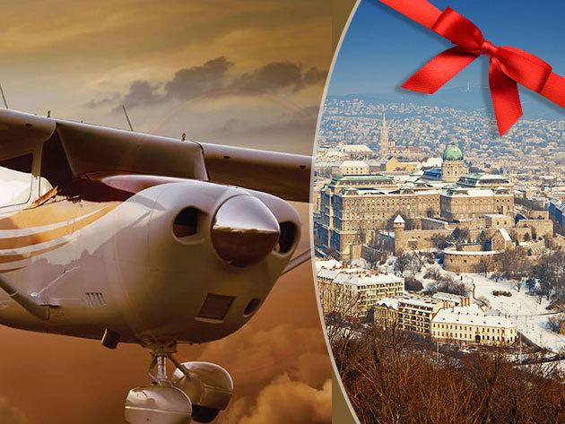Panorámarepülés - Légy Te egy repülőgép pilótája! 30 perc elméleti oktatás + 20 perc Budapest panorámarepülés, választható útvonalon