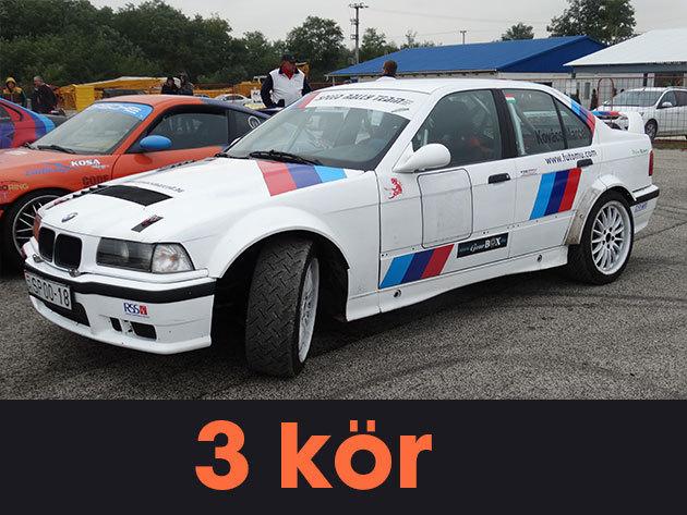 """3 kör vezetés egy BMW E36 """"F"""" csoportos rally versenyautóval a Kakucs-Ringen"""