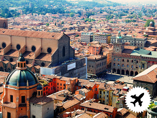 Bologna, Olaszország: 4 nap/3 éjszaka szállás 2 főnek, 4*-os hotelben, reggelis ellátással, repjeggyel, illetékkel!