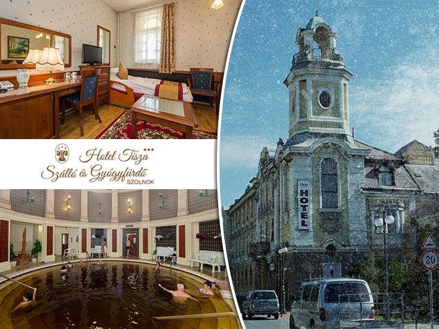 Hotel Tisza*** Szálló és Gyógyfürdő, Szolnok - 3nap/2éj 2 fő részére svédasztalos reggelivel és korlátlan gyógyfürdőzéssel