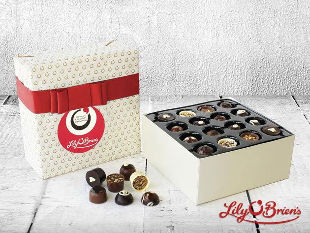 Csoki bonbon prémium minőségben: Lily O'Brien's 45 és 48 db-os desszertválogatások- Írország kedvenc gyártójától