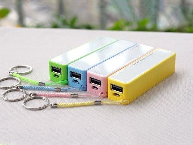 Külső akkumulátor - 4800 mAh-s Power Bank telefonhoz, tablethez, választható színben / Plusz energia bárhol!