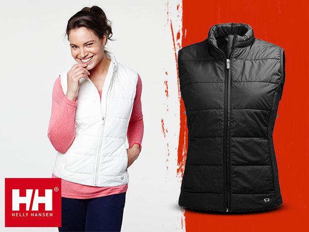 Helly Hansen W STELLA INS VEST női mellény - szélálló, vízlepergető, PrimaLoft® Silver béléssel, kitűnő szigetelést biztosítva