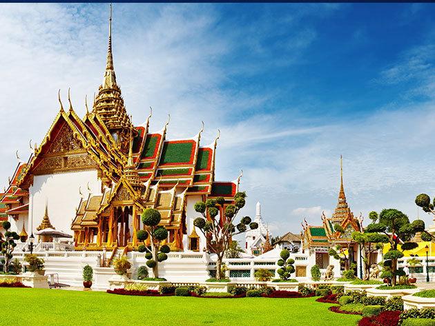RÉSZLET / Thaiföld 2016. április 11–21.: repülőjegy, szállás, idegenvezetés, transzferek / fő