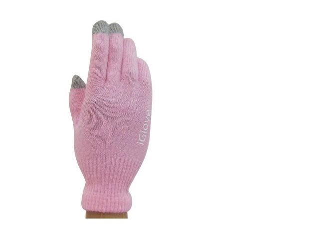 iGlove kapacitív kesztyű - rózsaszín