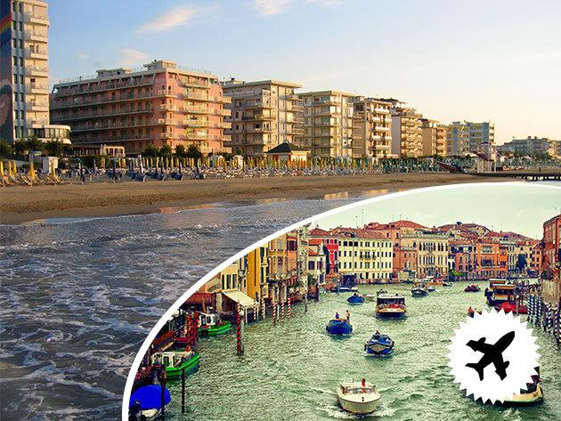 Velence, Lido Di Jesolo - Pünkösdi hétvége május 15-18. / repülőjegy és 4 nap szállás reggelivel az olaszországi adrián, 2 fő részére