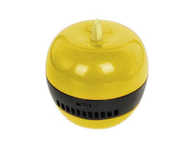 Mini asztali vákuum portalanító morzsa porszívó - sárga