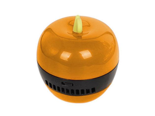 Mini asztali vákuum portalanító morzsa porszívó - narancssárga