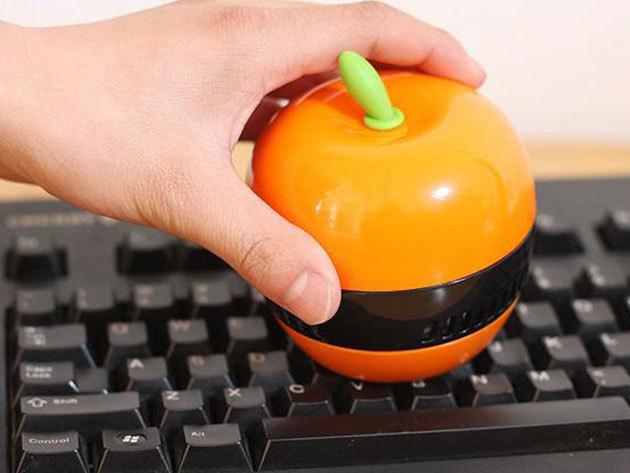 Mini asztali vákuum portalanító, morzsa porszívó - az íróasztalod, klaviatúrád tisztán tartásához