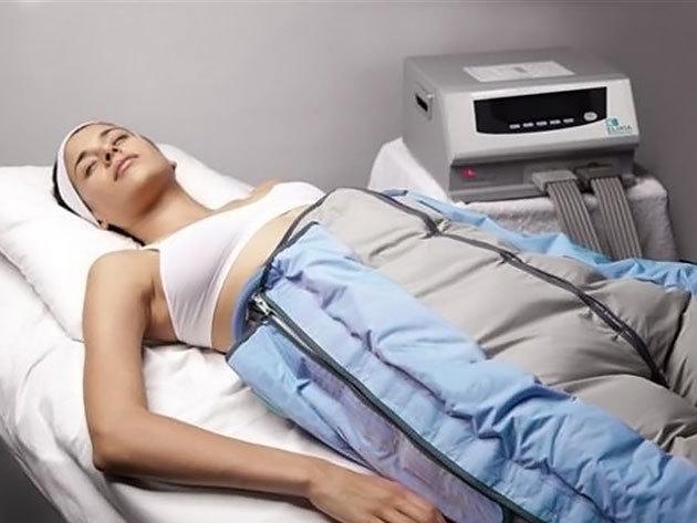 1 alkalmas Dr. Life méregtelenítő nyirokmasszázs + O2 terápia