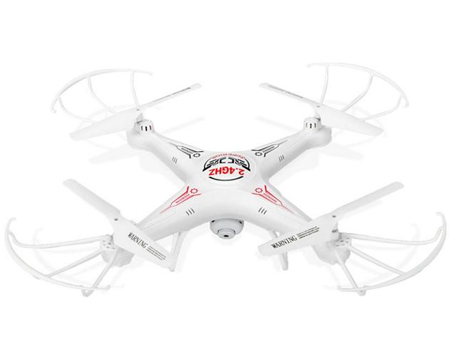 HD kamerás Quadcopter Drón, fehér
