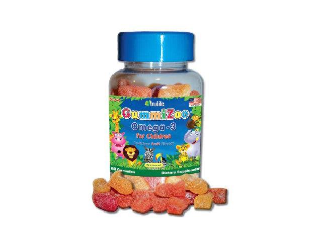 GummiZoo Omega-3 gumivitamin gyermekeknek (30 db/csomag)