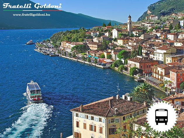 ÉSZAK-ITÁLIAI TÓVIDÉK: 5 nap / 4 éjszaka a nagy olasz tavak körül, autóbusszal, szállással, reggelivel, idegenvezetéssel (április 13-17.)