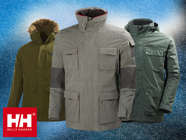 Helly Hansen férfi téli kabátok - vízálló, szélálló, lélegző anyag, a stílus és a funkcionalitás tökéletes kombinációi (S-XXXL)