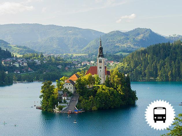 """Szlovénia, buszos utazás szállással: BLED –BOHINJ, kikapcsolódás Európa """"Zöld szívében"""", a Bledi-tóra panorámás reggelivel és vacsorával (2 nap 1 éj) / fő"""