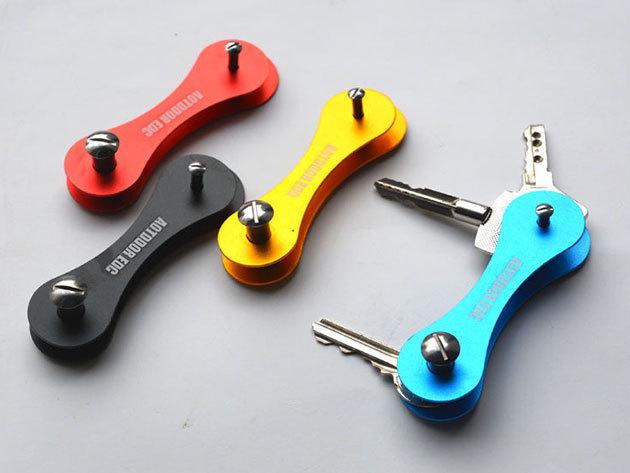Kulcs rendező - praktikus eszköz a hatalmas, rendszertelen, zörgő kulcscsomók ellen