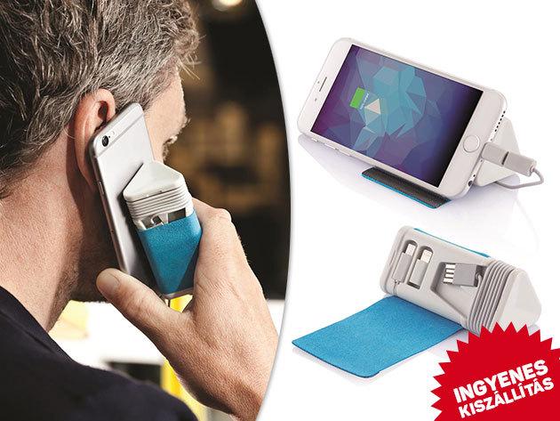 Powerbank (Dobble) 3000mAh-es Samsung akkumulátorral - minőség termék tabletek, telefonok töltéséhez, díjmentes szállítással