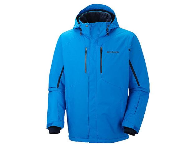 WM1038l_431 Cubist IV Jacket / Férfi  vízálló/lélegző sikabát: hegesztett varrás, Omni-Heat hőtükrös bélés / L