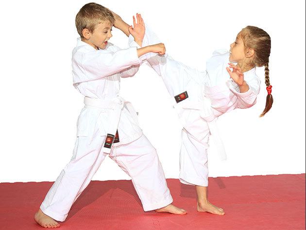 Kyokushin full-contact karate oktatás gyermekeknek AJÁNDÉK KARATE RUHÁVAL - 1 hónapos bérlet / heti 3 edzés