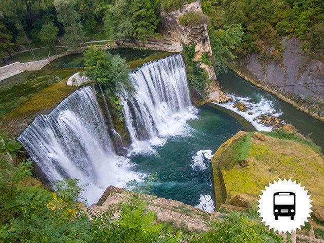 Bosznia-Hercegovina: kirándulás a Jajce vízeséshez, városnézéssel egybekötve / non-stop autóbuszos utazás május 14-én