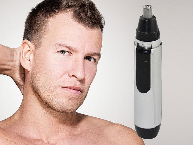 Elektromos orrszőrnyíró - a férfi szépségápolás apró trükkje