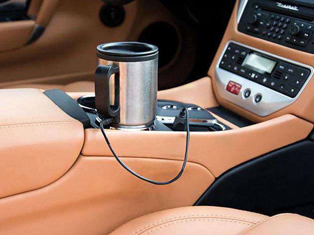 Autós elektromos thermo bögre szivargyújtós csatlakozóval - melegen tartja italodat