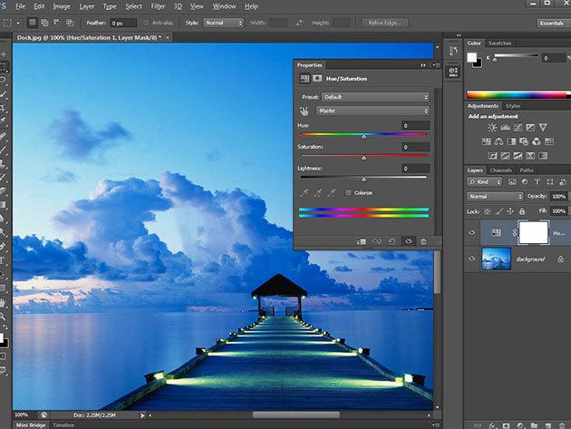 Photoshop CS6 online grafikus kurzus vizsgával és igazolással, 1 év korlátlan hozzáféréssel az internetes tartalomhoz - 1 fő részére (angolul)