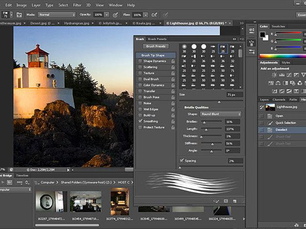 Photoshop CS6 online grafikus kurzus vizsgával és igazolással, 1 év korlátlan hozzáféréssel az internetes tartalomhoz - 2 fő részére (angolul)