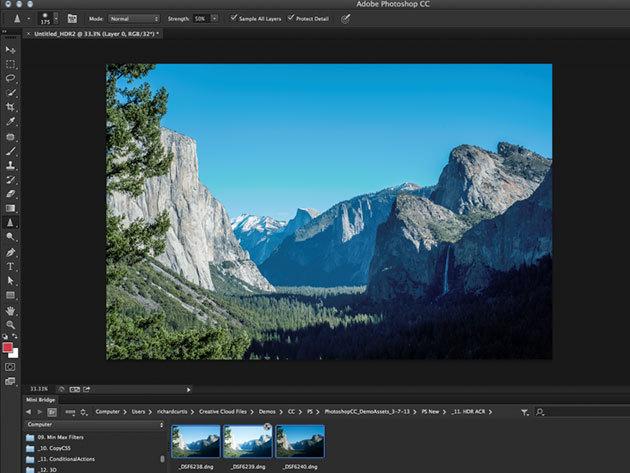Photoshop CC online grafikus kurzus vizsgával és igazolással, 1 év korlátlan hozzáféréssel az internetes tartalomhoz - 2 fő részére (angolul)