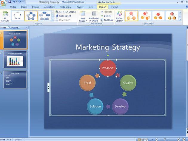 Microsoft PowerPoint online kurzus vizsgával és igazolással, 1 év korlátlan hozzáféréssel az internetes tartalomhoz - 1 fő részére (angolul)