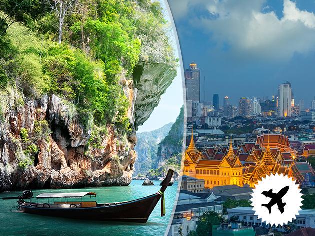 Thaiföld - Phuket, utazás repülővel, 10 nap: repülőjegy, 3-4*os szállás, programok, idegenvezetés! Big Buddha, James Bond sziget, elefántok…30 életre szóló élmény az árban / fő