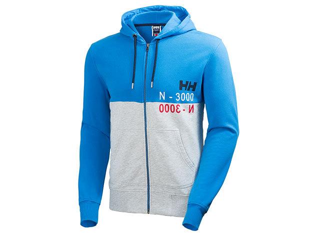 Helly Hansen GRAPHIC FZ HOODIE RACER BLUE L (54349_535-L) - AZONNAL ÁTVEHETŐ