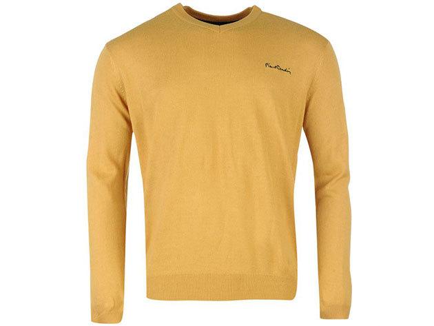 e59ee3248d Pierre Cardin kötött férfi pulóver