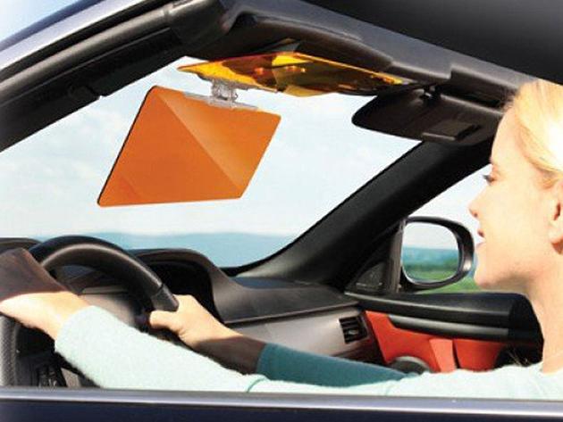 HD Vision nappali és éjszaki autósüveg sötétítő - 2in1, autós napellenző és fényszűrő
