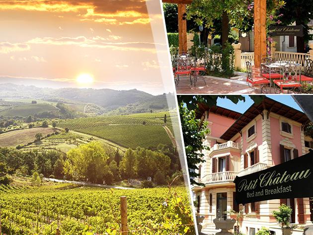 Toszkána, Petit Château / Montecatini Terme - szállás reggelivel és vacsorával, fürdő kedvezménnyel, 2 fő részére