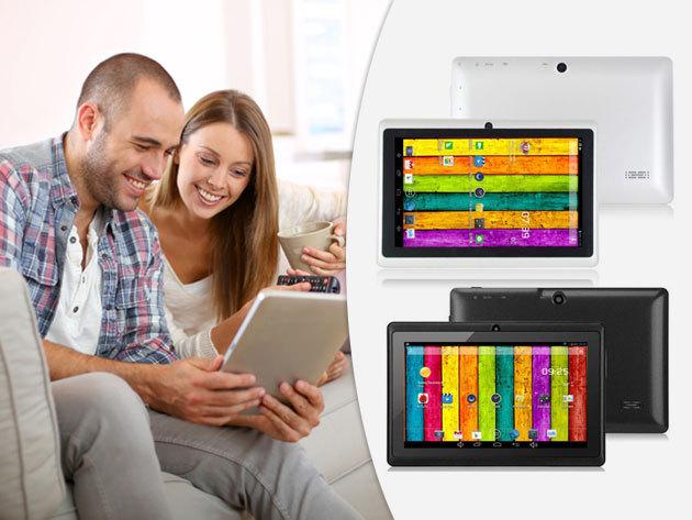 """Tablet / Q88H quadcore 7"""" kijelzővel, bővíthető tárhellyel - személyi szórakoztató központ, akár gyermekek számára is, tanuláshoz"""