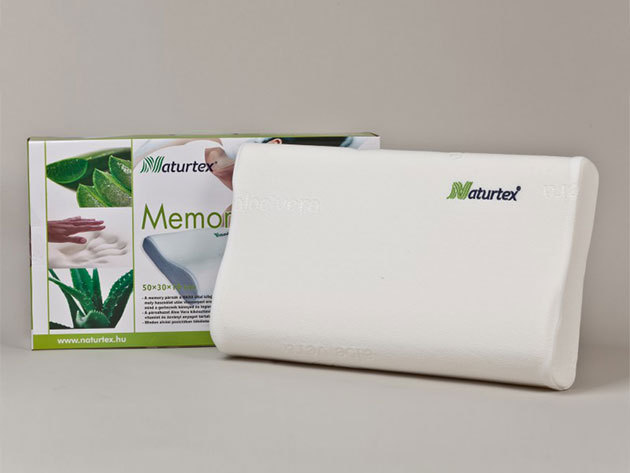 Memory Aloe-Vera Classic párna 50x30x10/7 cm
