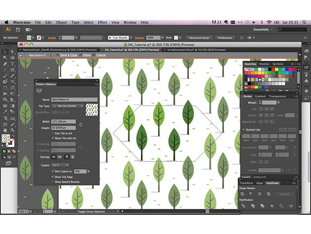 Adobe illustrator CS6 online kurzus kezdőknek és haladóknak, angolul, 1 éves hozzáféréssel / 1 fő részére